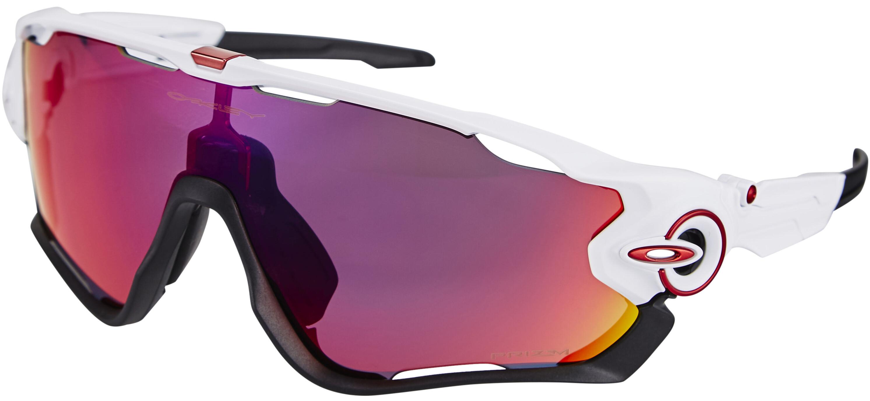 Oakley Jawbreaker - Gafas ciclismo - blanco | Bikester.es